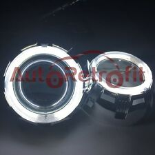 White CCFL Angel Eye Rings Orbit Shrouds,for 2.5'' and 3.0'' Projector Retrofit