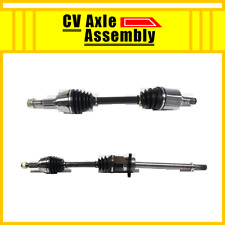 Front Pair CV Axle Diver&Passenger Side 2 PCS For 2003-2007 for MURANO(FWD)