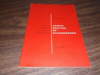 1958 NEW YORK CENTRAL NYC ANNUAL MEETING OF THE SHAREHOLDERS REPORT