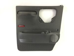 2003-2009 Chevrolet Kodiak GMC Topkick Driver Door Gray interior Trim Panel OEM