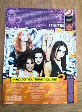 SPICE GIRLS Who Do You think You Are lyrics magazine PHOTO/clipping 11x8 inches