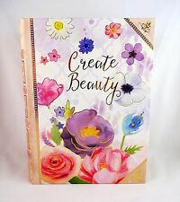 Floral book storage box 8 by 11 inch hollow gift box