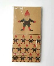 NIP Ikea Gnome Kotte Elf Blank Cards Set Of 20 w/ Envelopes