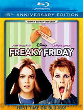 Disney Remake Freaky Friday the 13th Movie Blu-ray Parent Child Family Comedy