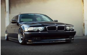 BMW 7 E38 FRONT SPOILER ALPINA LOOK