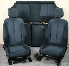 BMW M SPORT F21 1 SERIES ALCANTARA BLUE STITCHING INTERIOR SEATS & DOOR CARDS
