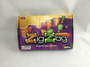 Zig Zag Game Educational Insights Brain Building W Strata Gems 100% Complete
