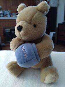 "GUND Disney Classic Winnie the Pooh Plush 9"" Stuffed Animal Bear Hunny Pot"
