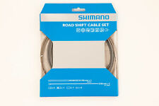 Shimano Road Bike Gear Cable Set SIL-TEC Coated Inner Cables