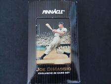 1993 Pinnacle Joe DiMaggio Exclusive 30 Card Set In Metal Tin Mint!