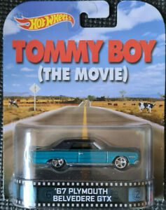 2014 HOTWHEELS - Retro Entertainment D - TOMMY BOY - Plymouth Belvedere GTX 1:64