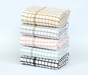 Tea Towels 100% Egyptian Terry Cotton Kitchen Cloths Dish cleaning Bar Cloth Set
