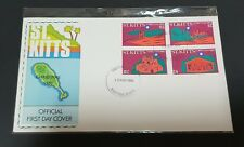 St. Kitts 1980 Christmas Stamp FDC