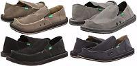 Sanuk Vagabond Men's Sidewalk Surfer Slip On Shoes Sizes 8 9 10 11 12 13 14