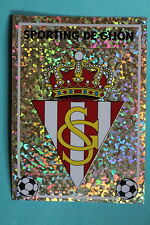PANINI Liga 96/97 SPORTING DE GIJON BADGE MINT!!!