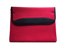"11.6"" Laptop Sleeve - Notebook Case - Red - New - Soft and Durable Neoprene"