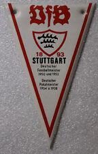 Fusball Football * NESQUICK WIMPEL 1966/67 DFB VfB 1893 STUTTGART DM 1950 / 1952