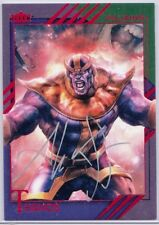 2015 Marvel Fleer Retro THANOS - Silver Autograph - Aleksi Briclot