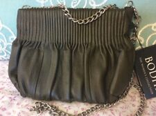 New Bodhi $248 Picadilly leather cross body handbag purse clutch chain