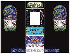 Galaga Side Art Arcade Cabinet Artwork Graphics Decals