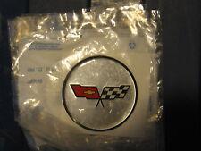 NOS 1982 Corvette hub cap emblem GM part # 14055921