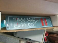 Verteq Model: C1065498-1 Spin Rinse Dryer Control Panel.  New Old Stock   < J