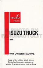 isuzu car truck owner operator manuals for sale ebay rh ebay com New Balance Manuals User Manual PDF