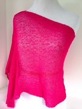 Shrug Infinity Scarf Wrap Fuchsia Wear 3 Ways Hands To Hearts Soul Warmer