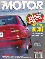 Motor Jan 95 E36 M3 Saab 900 Convertible 306 E220 Rav4 VR6 VTi-R 911 XR6 200SX