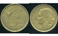 20  FRANCS G. GUIRAUD 1953 B