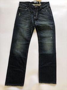 King Krash By Donwan Harrell PRPSJeans Premium Dark blue Denim Japanese W32 NEW