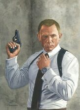 James Bond Daniel Craig Art Print
