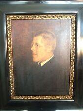 Eduard Otto von Braunthal 1873 - 1939 Portrait Mann im Anzug / Datiert 1917