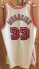 1996-97 Alonzo Mourning Autographed Miami Heat Home Game Jersey NBA