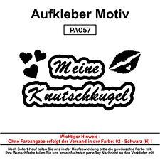 Meine Knutschkugel - Autoaufkleber Aufkleber Fun Spaß Sticker Lustige Sprüche