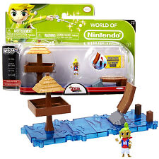 World of Nintendo The Legend of Zelda Wind Waker Micro Land Tetra + Open Ocean