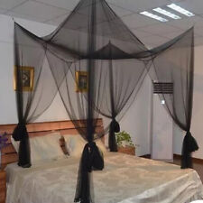 4 Corner Bed Canopy Mosquito Net Full Queen King Size Netting Bedding Ting1