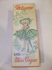 Vintage Pedigree LMV Little Miss Vogue Doll ~ Boxed