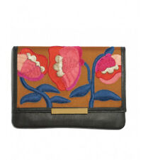 Lizzie Fortunato Port Of Call In Blossom Clutch, New with Packaging