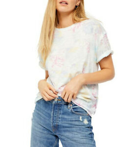 We The Free By Free People Womens Clarity OB984986 T-Shirt Multicolour XS