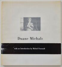 """SIGNED DUANE MICHALS """"Photographies de 1958 - 1982"""" FRENCH / ENGLISH M. FOUCAULT"""