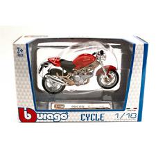 DUCATI MONSTER 900 1:18 Burago Moto Die Cast Modellino