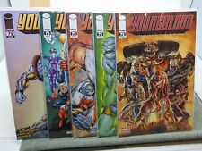 Youngblood #75 x5 Variant Covers Image Comics CB5410