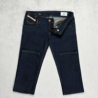 Womens DIESEL Matic Jeans Size W28 L32 Slim Fit Tapered Leg Stretch Wash 008N4