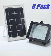 8 X Bizlander® 5W60Led Solar Flood Light for Commercial Sign Park Home Farm Park