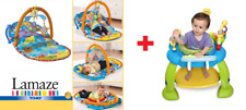 USED LAMAZE Sit Up Musical Baby Gym & ExerSaucer Activity Toy