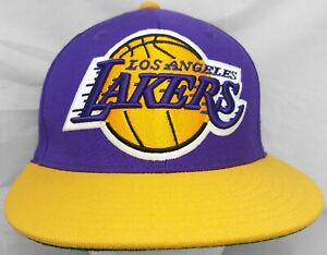 Los Angeles Lakers NBA Mitchell & Ness 7&1/8 fitted cap/hat