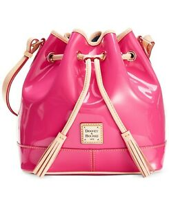 Details about  /NWOT Dooney /& Bourke White Patent Leather Janine Satchel Handbag Purse w Strap