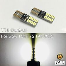 T10 194 168 2825 12961 License Plate Light White 24 Canbus LED M1 For Chevrolet