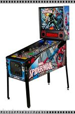 Stern Ultimate SpiderMan Vault Edition Premium Pinball Machine Free Shipping
